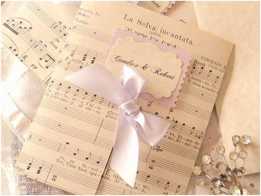 Music themed Wedding Invitations Expressivo Wedding Music February 2013