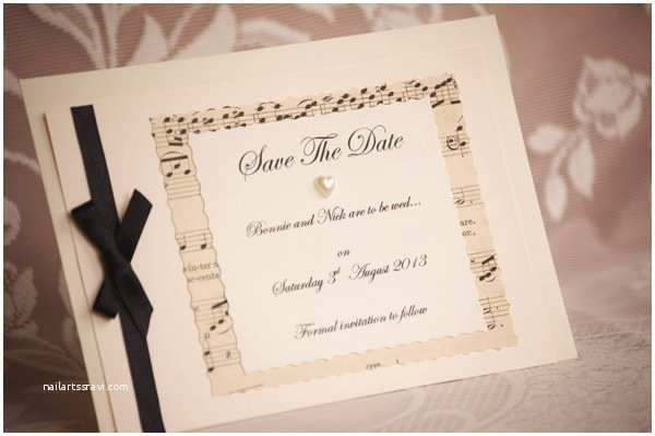 Music Wedding Invitations Vintage Wedding Invitations Gorgeous New Ideas for 2013