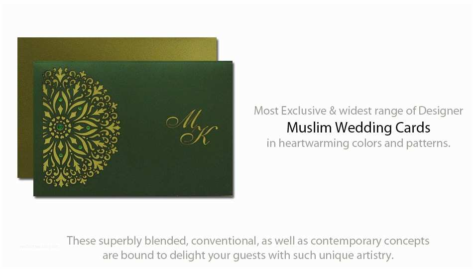 Muslim Wedding Invitation Templates 8 Best Of Muslim Wedding Cards Samples English