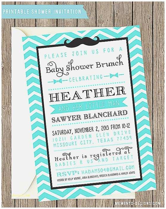 Mustache And Bow Tie  Shower Invitations  Shower Invitation New Mustache And Bow Tie