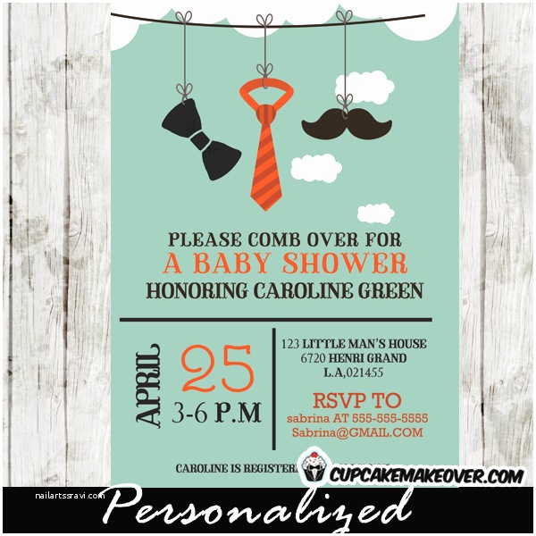 Mustache And Bow Tie Baby Shower Invitations Mustache & Bow Tie Archives