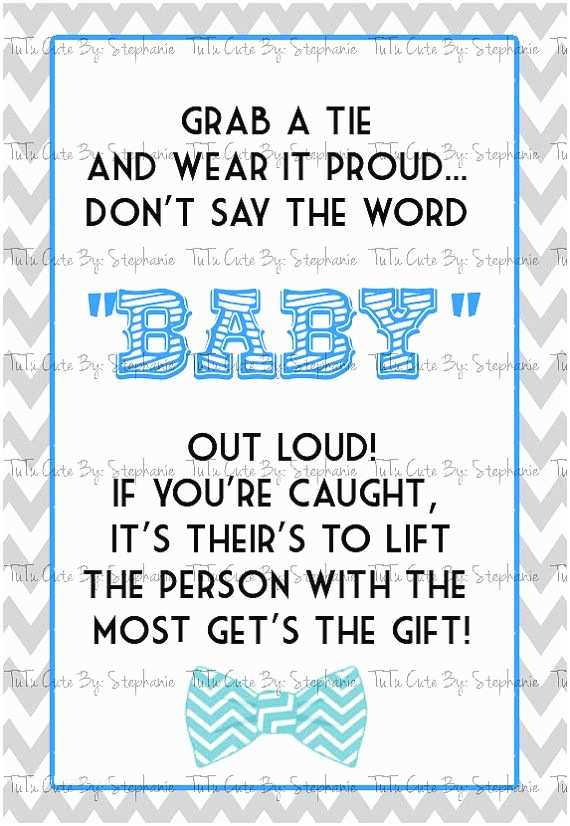 And Bow Tie Baby Shower Invitations  And Bow Tie Baby Shower Invitations