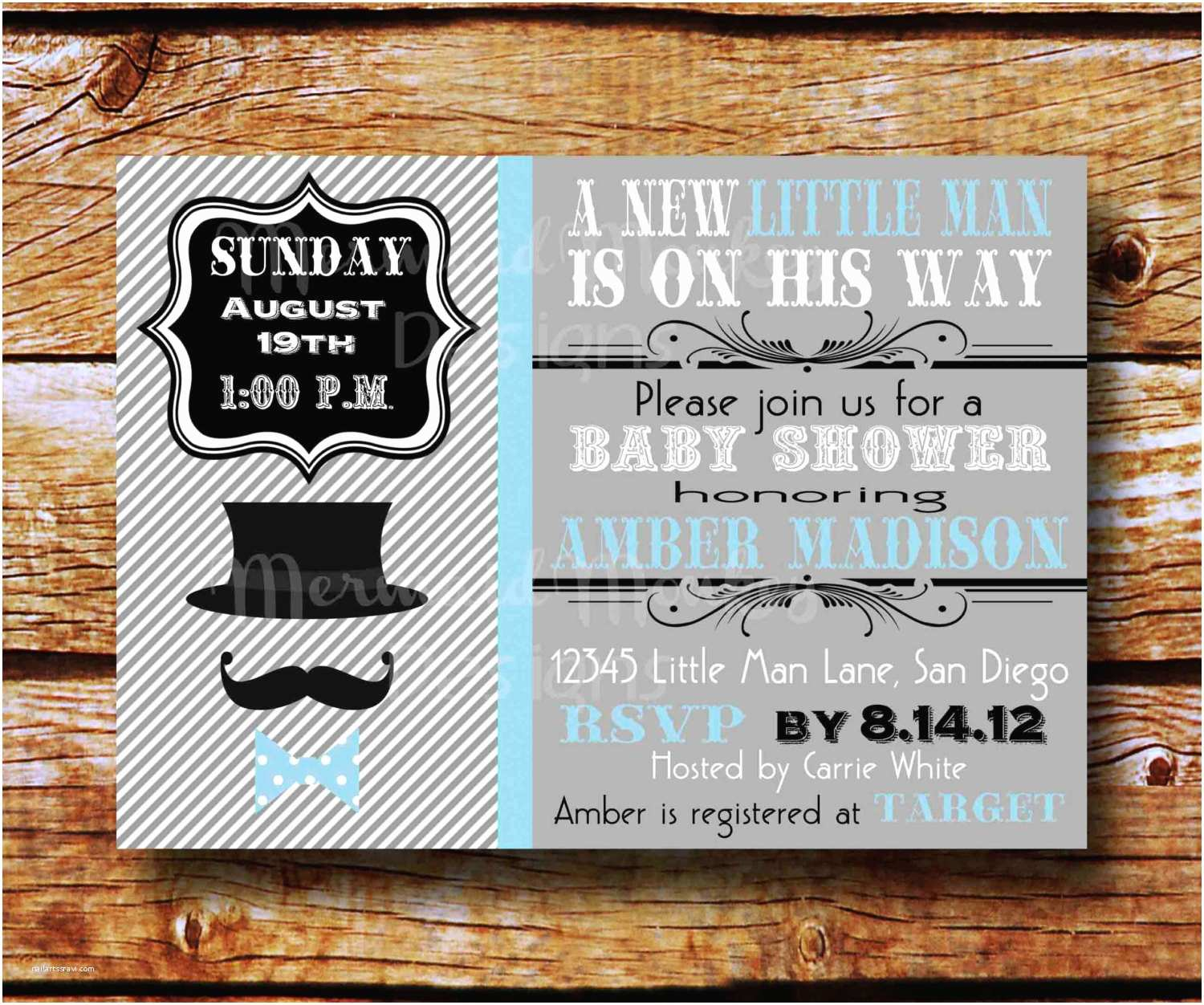 Mustache And Bow Tie Baby Shower  Mustache And Bow Tie Baby Shower