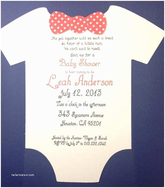 Mustache And Bow Tie Baby  Invitations Printable Mustache And Bow Tie Template For Baby