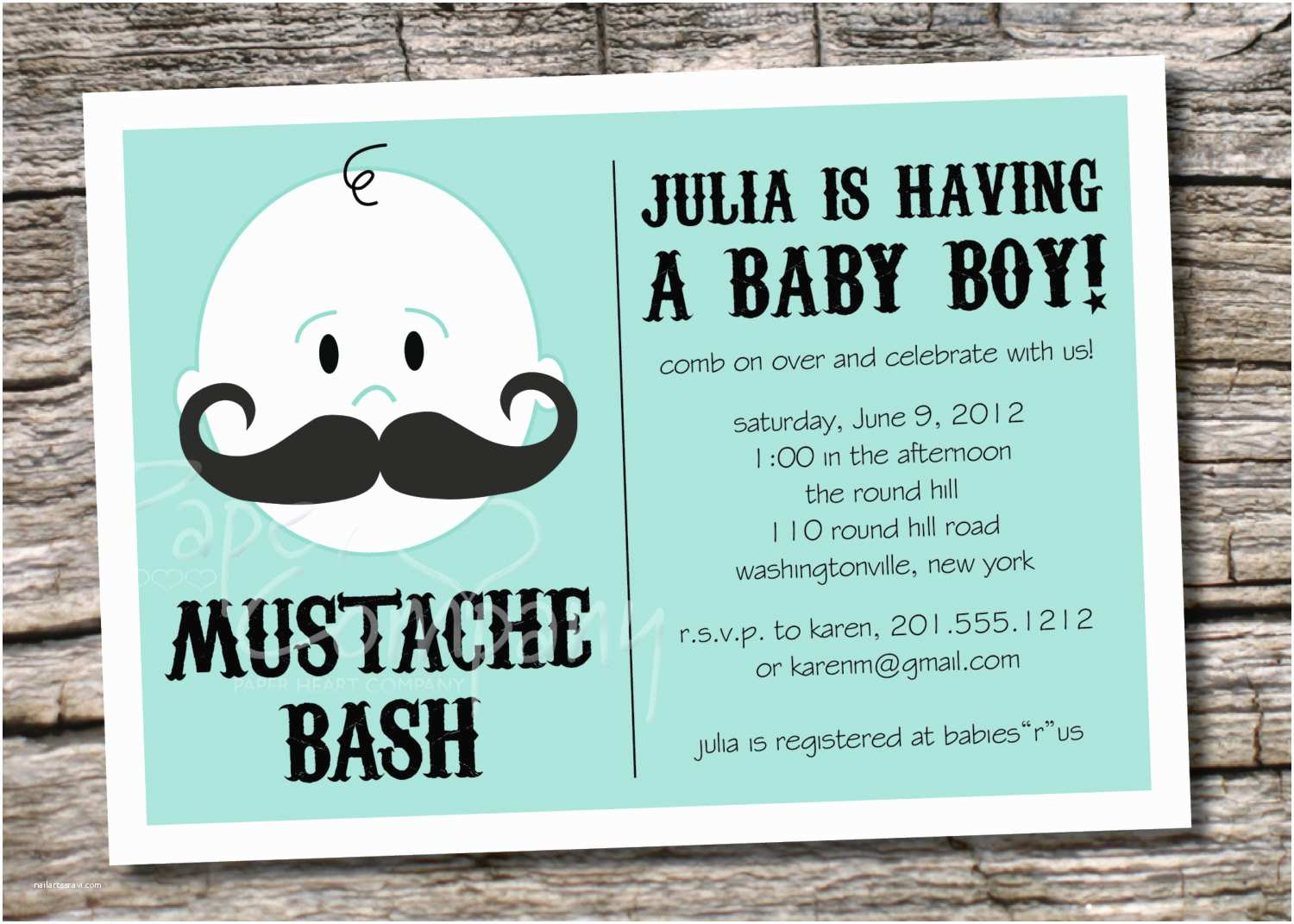 Mustache Baby Shower Invitations Mustache Baby Shower Invitation Templates