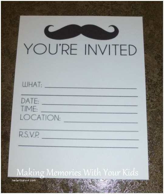 Mustache Birthday Invitations 8 Best Of Free Printable Popsicle Party Invitations