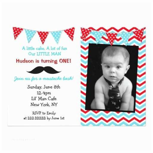 Mustache Birthday Invitations Little Man Mustache Birthday Party Invitations