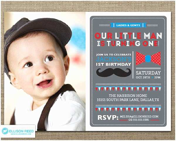 Mustache Birthday Invitations Little Man to Big Man Mustache Party B Lovely events