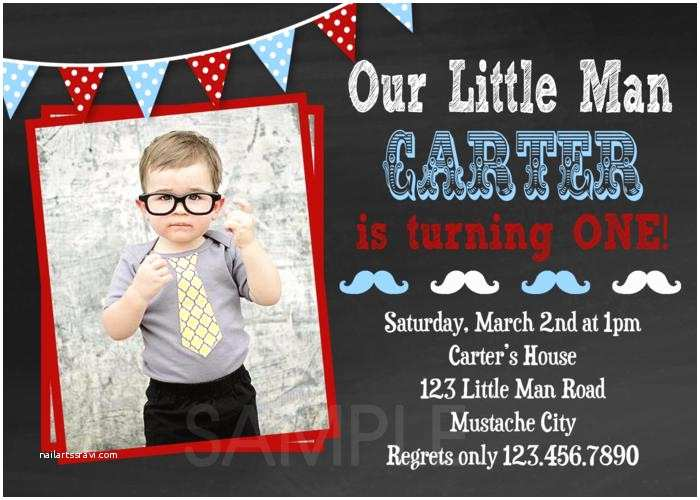 Mustache Birthday Invitations Printable Birthday Invitations Little Man Mustache