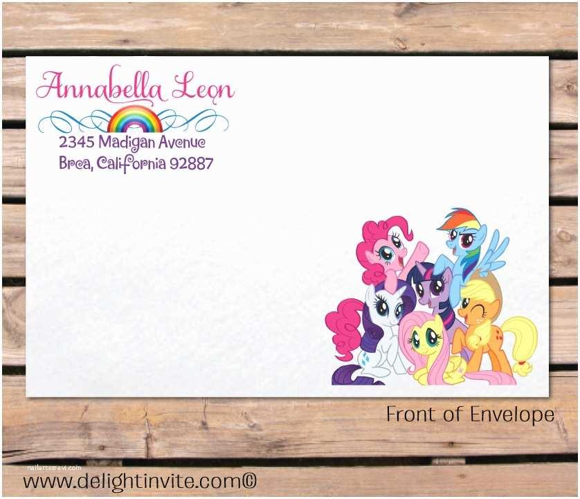 My Little Pony Party Invitations 2 Innovative My Little Pony Birthday Invitations