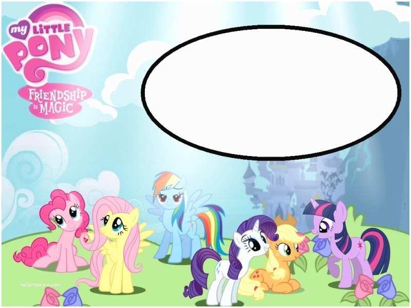 My Little Pony Party Invitations My Little Pony Free Printable Invitation Templates