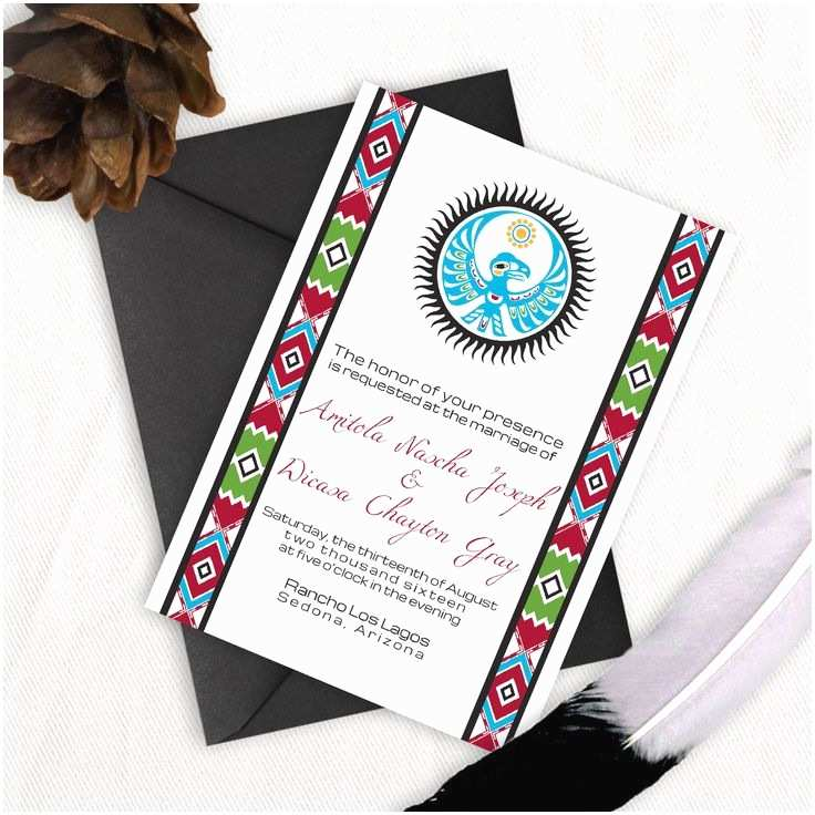 Native American Wedding Invitations 52 Best Images About original Wedding Menu Ideas On