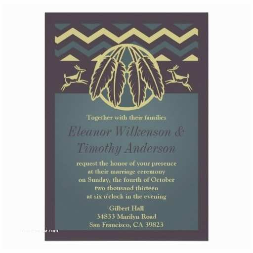 Native American Wedding Invitations 68 Best Images About Native American Tribal theme On