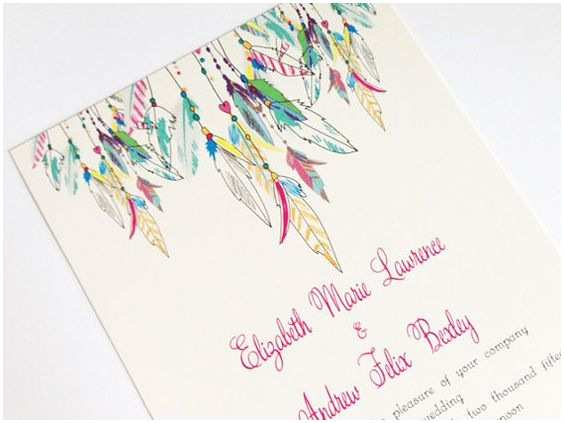 Native American Wedding Invitations Native American Feathers and Wedding Invitations On Pinterest