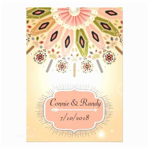 Native American Wedding Invitations Native American Wedding Invitation
