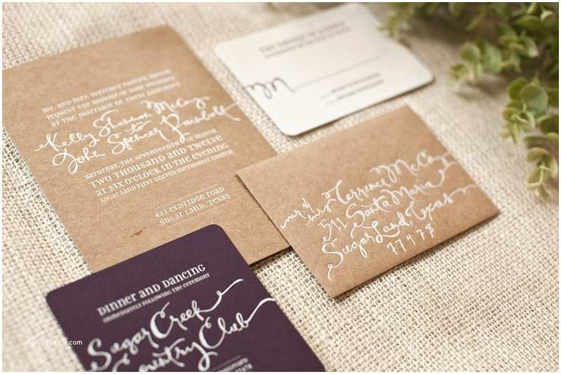 Natural Paper Wedding Invitations Natural Wedding Invitations Cobypic