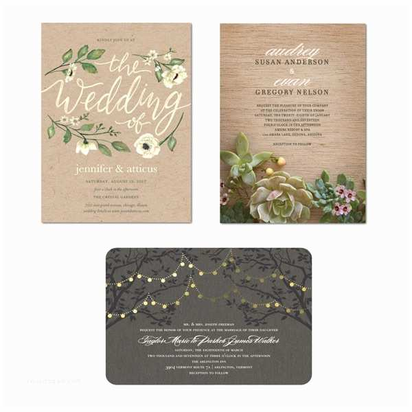 Natural Paper Wedding Invitations Wedding Paper Divas Invitations that are True to the Two
