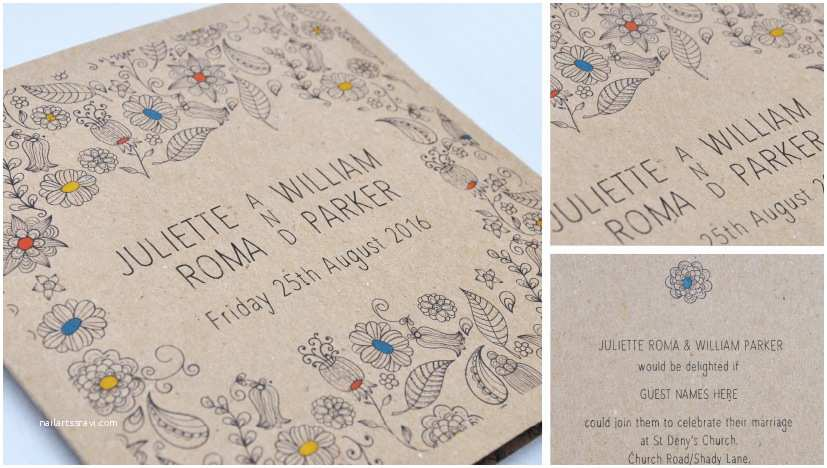 Natural Paper Wedding Invitations What S New Wedding Stationery