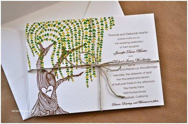Nature Wedding Invitations 17 Best Images About Weddings with Nature On Pinterest