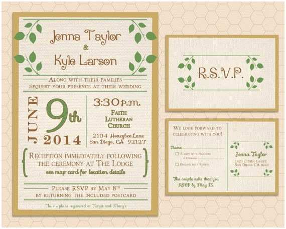 Nature Wedding Invitations Pinterest Discover and Save Creative Ideas