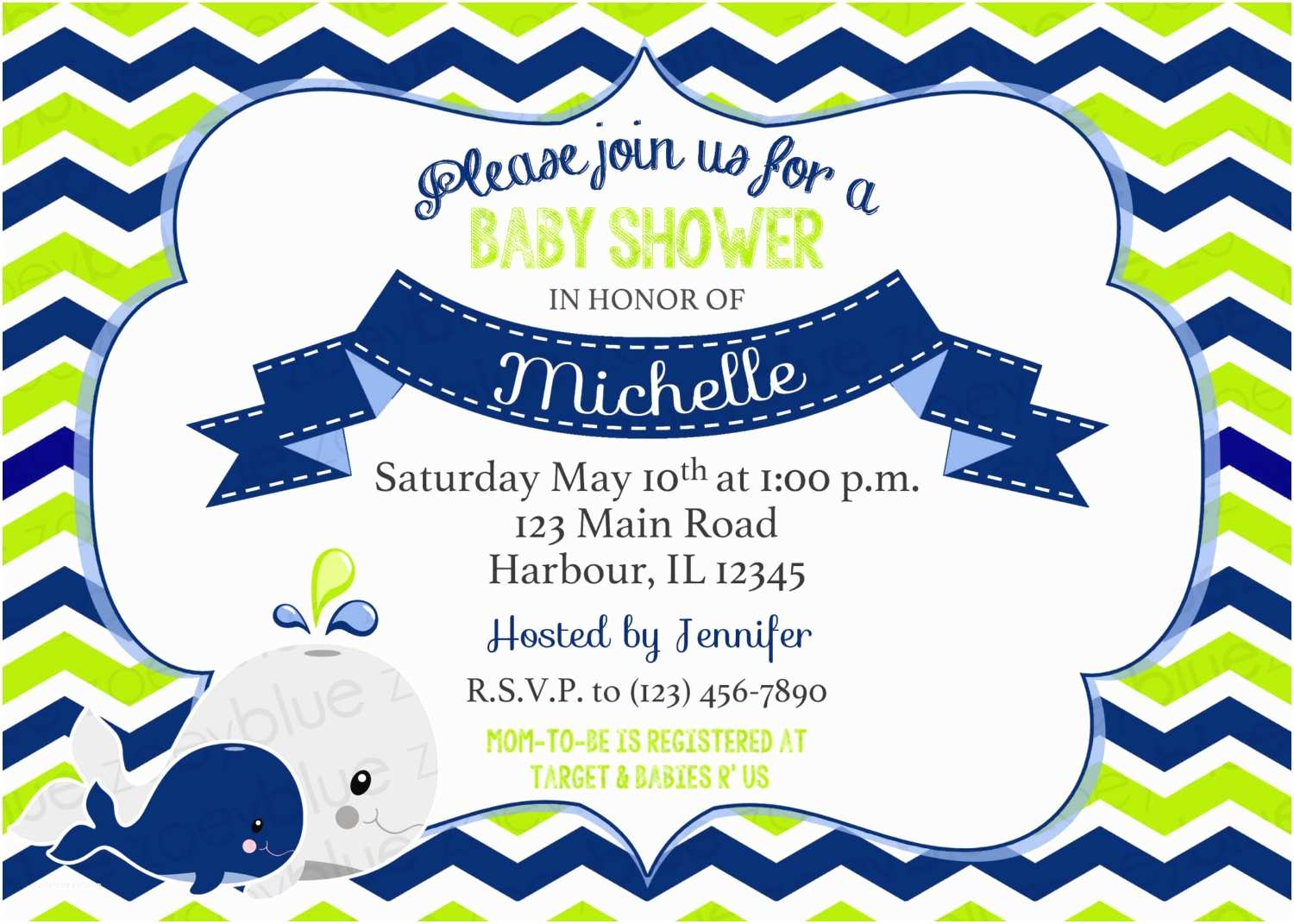 Nautical Baby Shower Invitations Templates Template Nautical Whale Baby Shower Invitations Wording