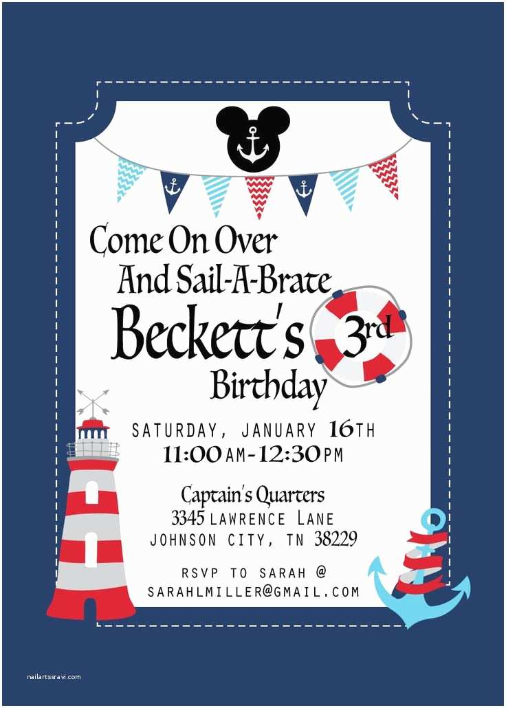Nautical Birthday Invitations 25 Best Ideas About Nautical Birthday Invitations On