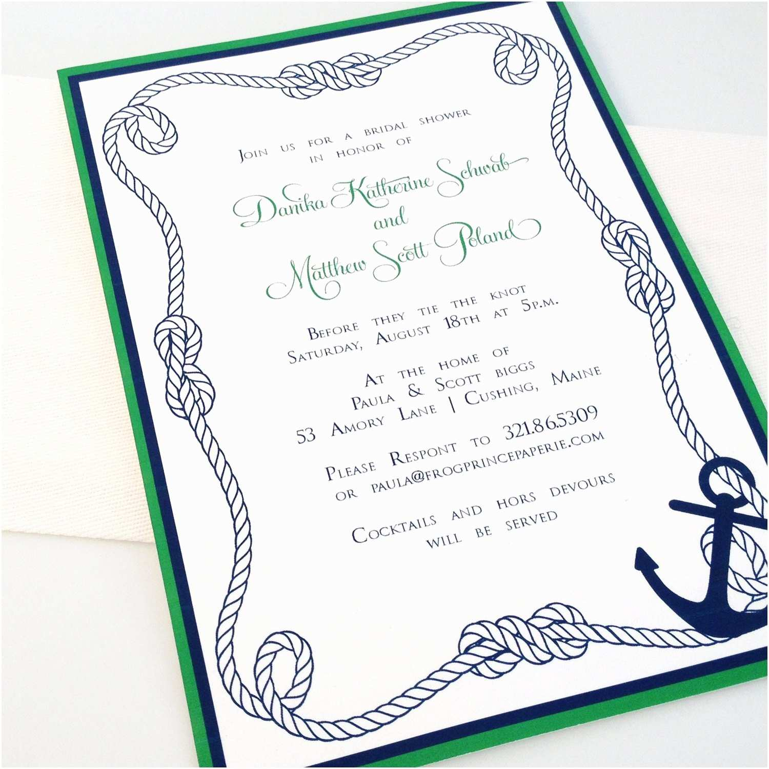 Nautical Bridal Shower Invitations Unavailable Listing On Etsy