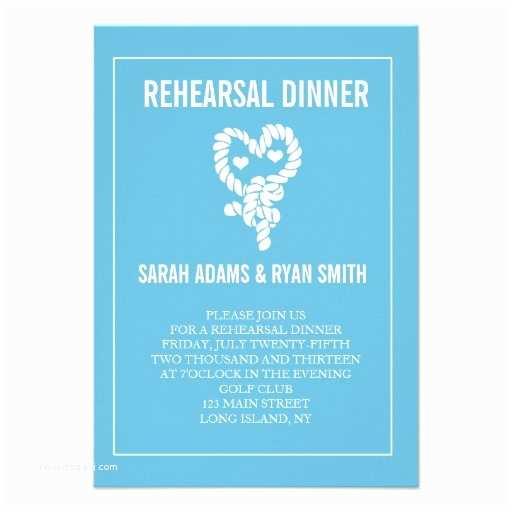 "Nautical Rehearsal Dinner Invitations Nautical Blue Wedding Rehearsal Dinner Invitations 3 5"" X"