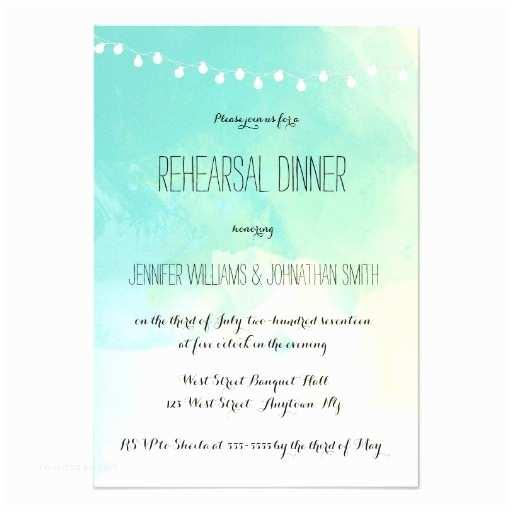 Nautical Rehearsal Dinner Invitations Nautical Watercolor Rehearsal Dinner Invitations