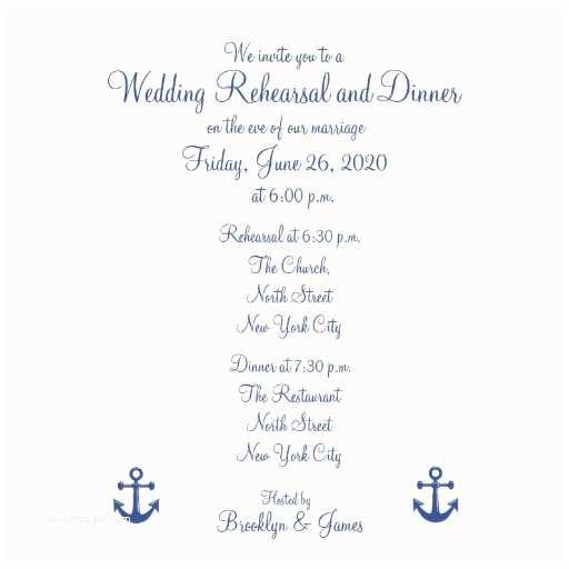 Nautical Rehearsal Dinner Invitations Nautical Wedding Rehearsal Dinner Invitations