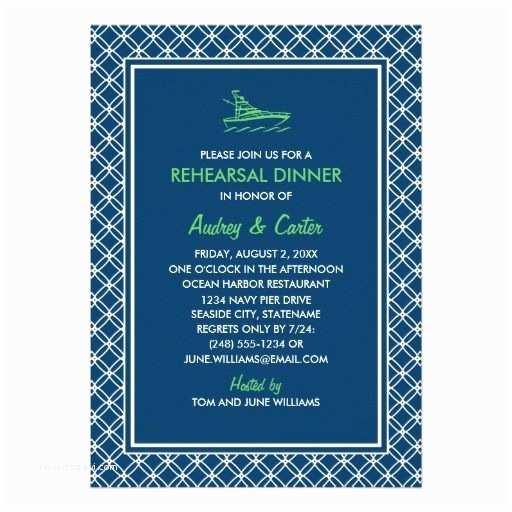 Nautical Rehearsal Dinner Invitations Rehearsal Dinner Invitation Navy Nautical theme