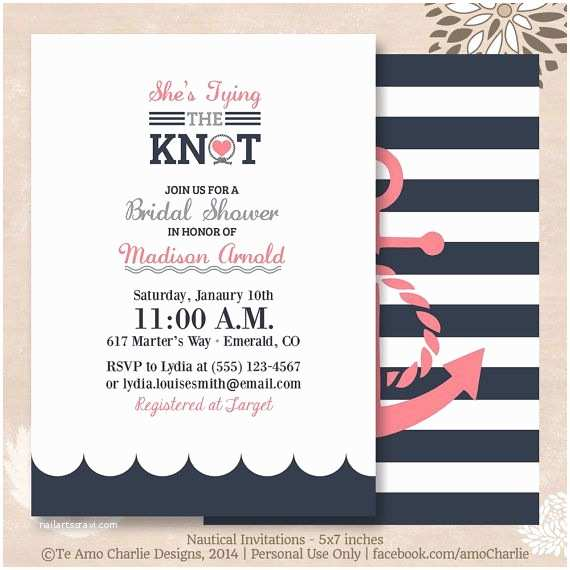 Nautical themed Wedding Invitations Best 25 Nautical Invitations Ideas On Pinterest