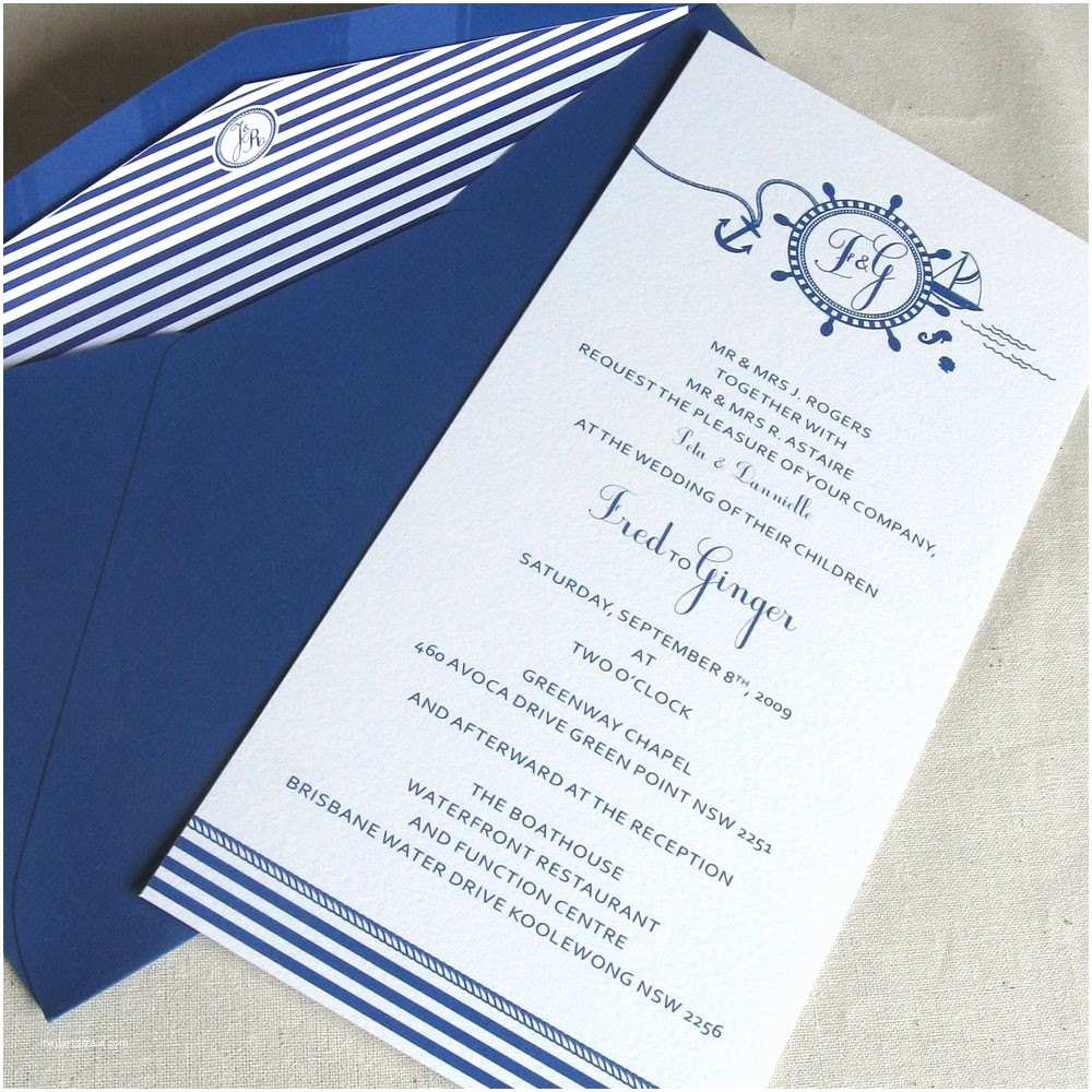 Nautical themed Wedding Invitations Best Wedding Planing Best Blue Wedding Invitations