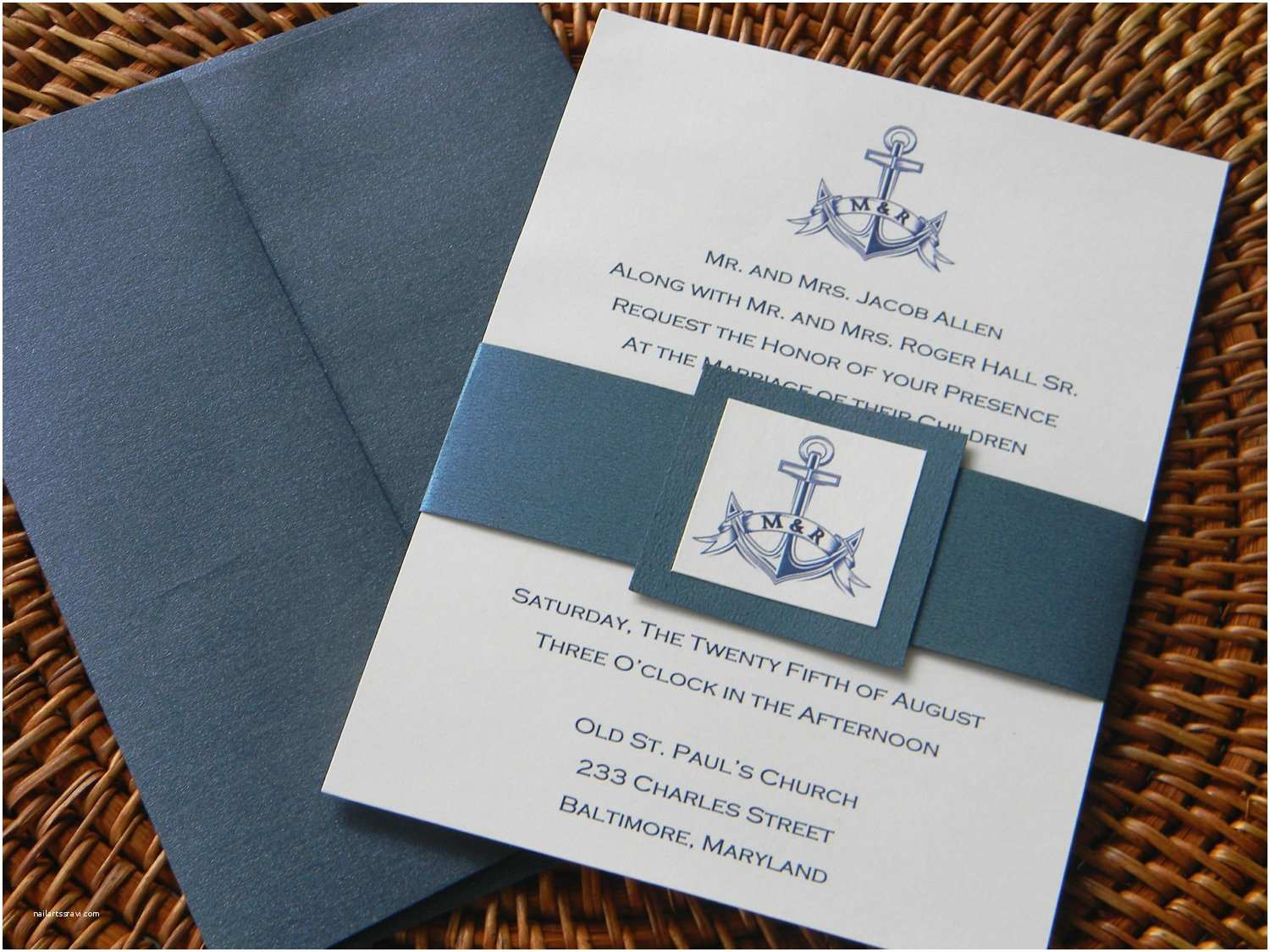 Nautical themed Wedding Invitations Nautical Wedding Invitation Nautical Wedding Wedding