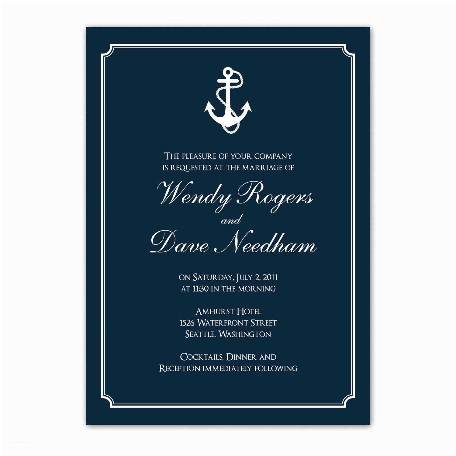 Nautical themed Wedding Invitations Wedding Invitations Nautical theme Copy Nautical themed