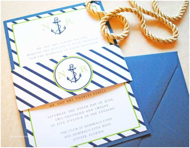 Nautical Wedding Invitations 25 Best Ideas About Nautical Wedding Invitations On