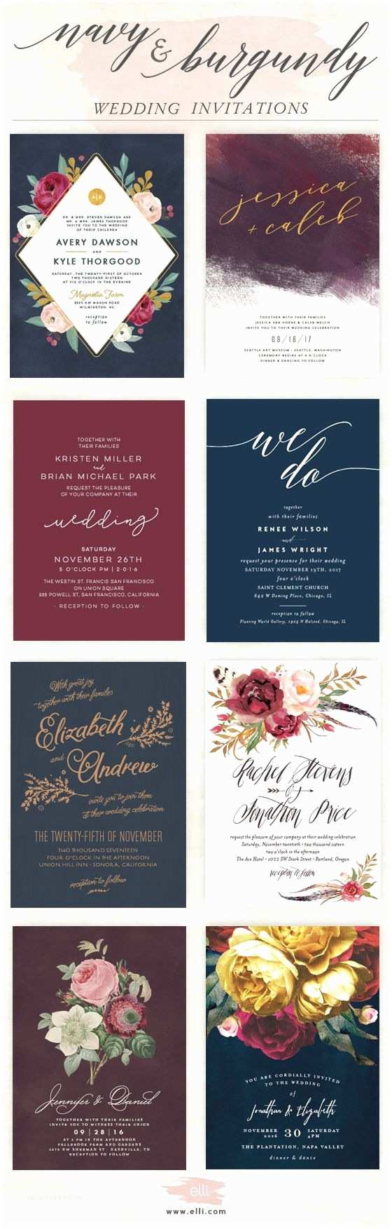 Navy and Burgundy Wedding Invitations Best 25 Burgundy Tie Ideas On Pinterest