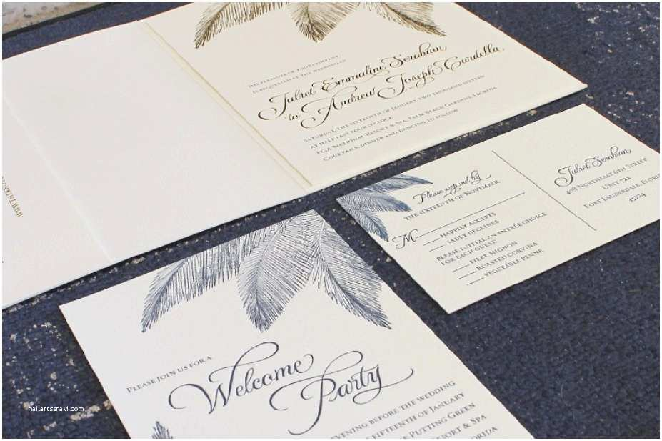 Navy and Gold Foil Wedding Invitations 30 Palm Tree Wedding Invitations top Rated – the