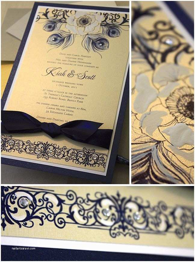 Navy and Gold Wedding Invitations 27 Best Images About Love Of Navy & Gold On Pinterest
