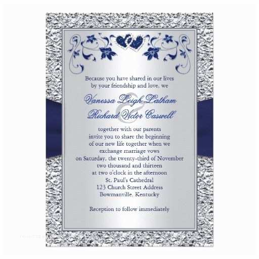 Navy Blue and Silver Wedding Invitations 25 Best Ideas About Navy Silver Wedding On Pinterest