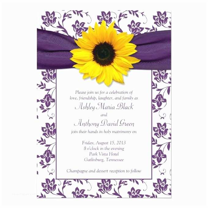 Navy Blue and Sunflower Wedding Invitations 727 Best Sunflower Wedding Invitations Images On Pinterest