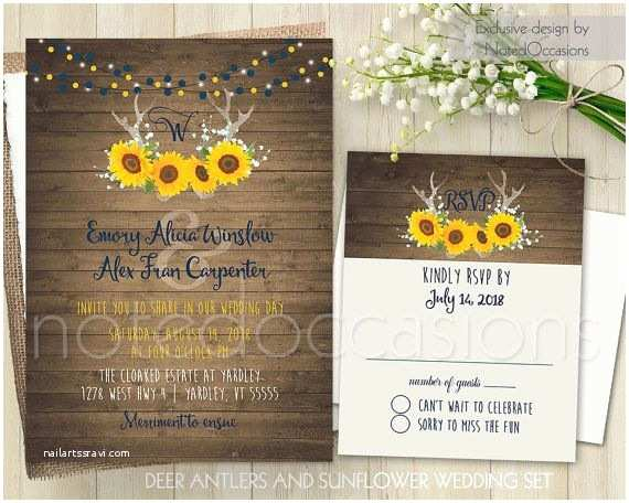 Navy Blue and Sunflower Wedding Invitations Best 25 Blue Sunflower Wedding Ideas On Pinterest