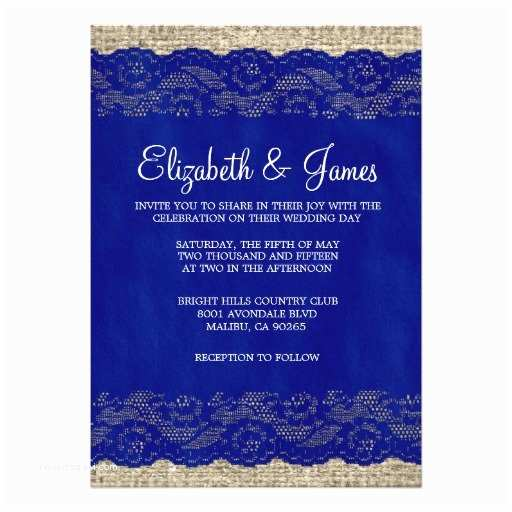 Navy Blue and White Wedding Invitations Navy Blue Lace Wedding Invitations