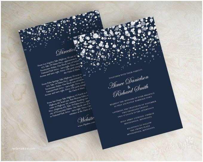Navy Blue Wedding Invitations Kits 25 Best Ideas About Navy Wedding Invitations On Pinterest