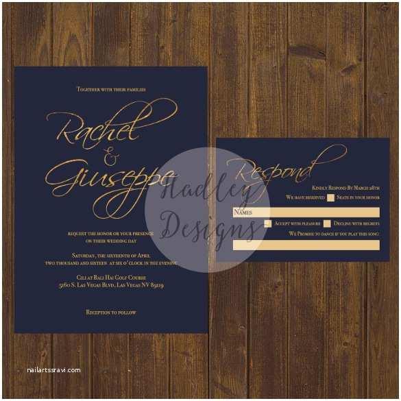 Navy Wedding Invitations 31 Elegant Wedding Invitation Templates – Free Sample