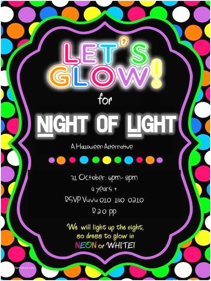 Neon Party Invitations Best 25 Neon Party Invitations Ideas On Pinterest