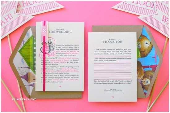 Neon Wedding Invitations Best Of 2011 Neon Storybook Wedding Invitations