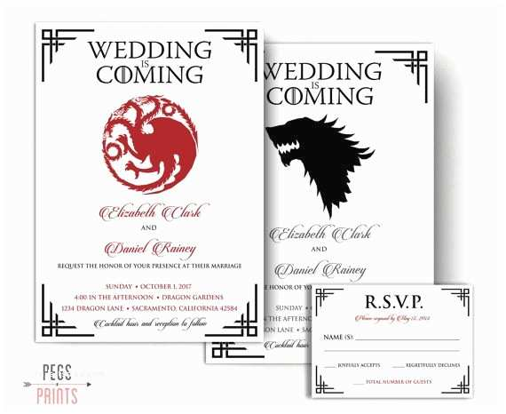 Nerdy Wedding Invitations 11 Best Geeky Invitations Images On Pinterest