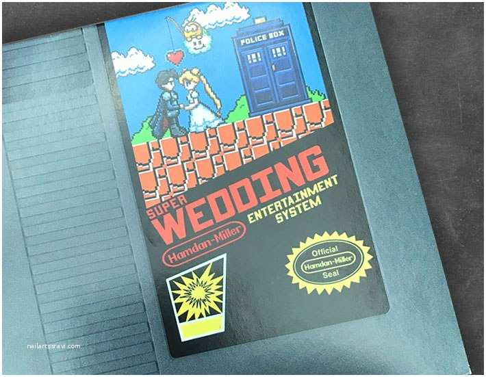 Nerdy Wedding Invitations Count the Fandoms that Hide In these Awesomely Nerdy