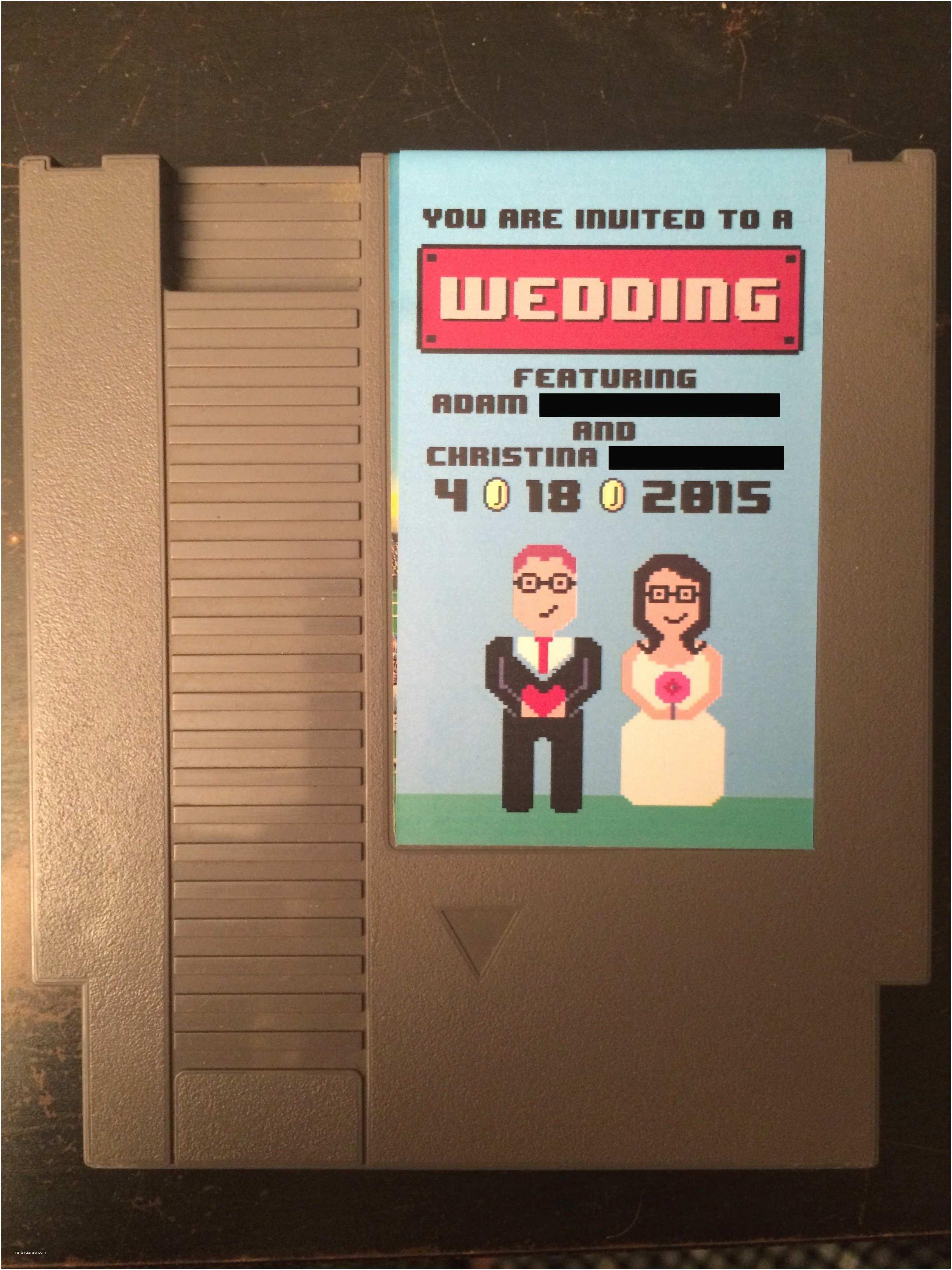 Nerdy Wedding Invitations the 15 Most Delightfully Geeky Wedding Invitations